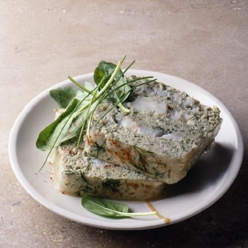 Terrine de truite et fromage blanc