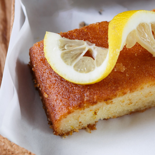 Brownie au citron