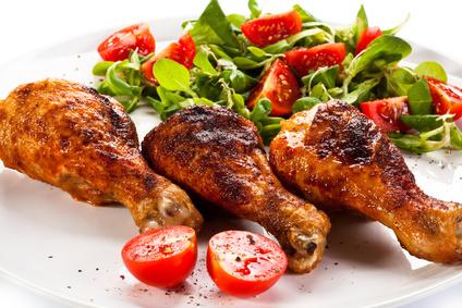 Cuisses de poulet sauce piquante