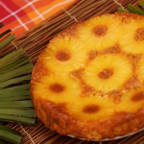 Gâteau renversé à l'ananas