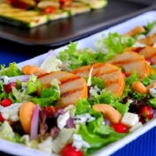 Salade de mâche au rôti