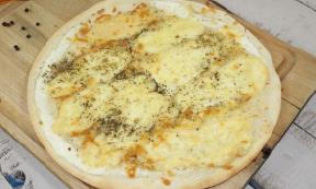 Pizza au munster